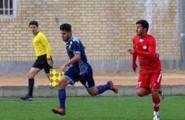 پیروزی پرگل تیم فوتبال جوانان سپیدرود رشت برابر شاهین جوان لاهیجان