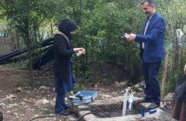 پایش و سنجش سلامت آب آشامیدنی شهرستان سیاهکل