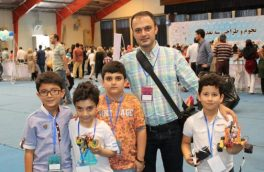 تیم دانش آموزی گیلان برنده عنوان سوم رقابت های کشوری رباتیک