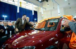 مهندس مسرور در رو نمایی از خودروی کوئیک سایپا در دومین نمایشگاه تخصصی خودرو منطقه آزاد انزلی:  اجرای سیاستهای اقتصاد مقاومتی و حمایت از تولید داخلی از مهمترین اهداف برگزاری این نمایشگاه است