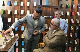 گزارش تصویری بازدید میدانی جعفرزاده از فروشگاه موبایل در رشت!