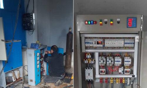 راه اندازی یک دستگاه تابلوبرق جدید در مجتمع آبرسانی چینی جان شهرستان رودسر