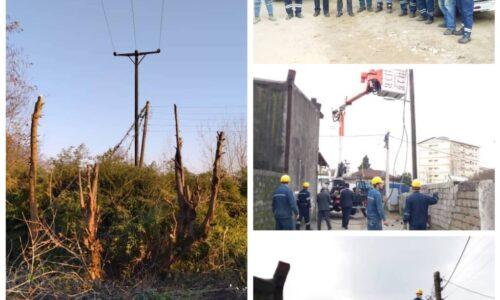 همزمان با سراسر کشور در توزیع برق گیلان صورت پذیرفت: مانور تعمیرات و بهینه سازی با محوریت صیانت از حریم شبکه های توزیع برق