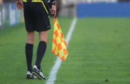 داور گیلانی بازی فوتبال تراکتورسازی با آلومینیوم را قضاوت می کند