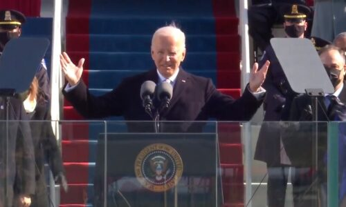 در نخستین سخنرانی به عنوان رئیس جمهوری جدید آمریکا و با تاکید بر تعامل با دنیا بایدن: افراط گرایی و تروریسم داخلی چالش آینده آمریکا است