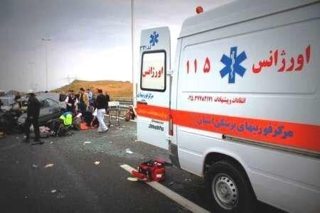 رئیس مرکز فوریتهای پزشکی گیلان:واژگونی خودروی کاپرا در محور لوشان حادثهساز شد