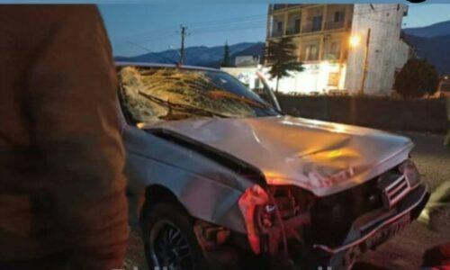 یک کشته در برخورد خودرو با عابرپیاده در چابکسر