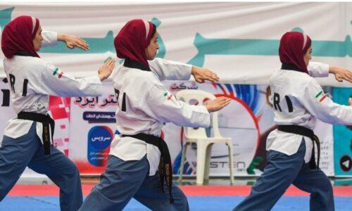 بانوان تکواندوکار گیلانی در لیگ برتر پومسه کشور درخشیدند