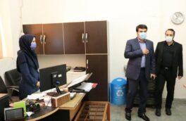 بازدید سرپرست شهرداری رشت از سازمان ساماندهی مشاغل شهری و فرآورده های کشاورزی شهرداری رشت