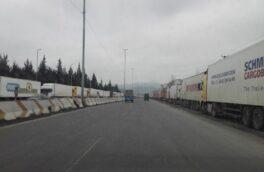 دیوار کامیونها در آستارا کی فرو میریزد؟