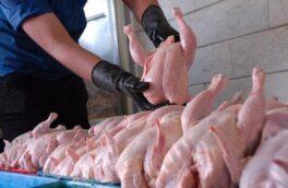 کشف ۱۵۰۰ کیلوگرم گوشت مرغ فاقد مجوز در رودسر
