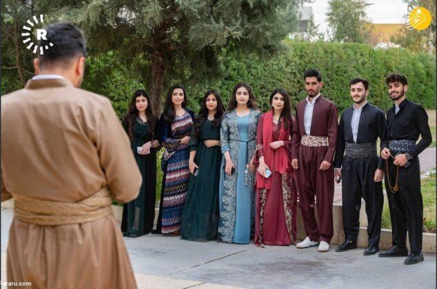 (تصاویر) مراسم جشن روز لباس کُردی