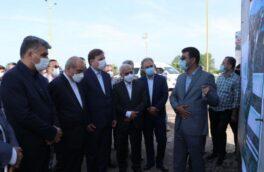 بازدید استاندار گیلان و دبیر شورایعالی مناطق آزاد کشور از طرح های توسعه ای منطقه آزاد انزلی
