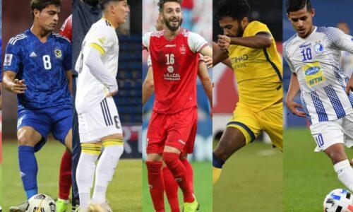 حضور «قایدی» و «عبدی» در فهرست ستارگان جوان لیگ قهرمانان آسیا