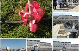 مراسم کلنگ زنی بخش فوق تخصصی قلب بیمارستان شهید نورانی تالش برگزار شد