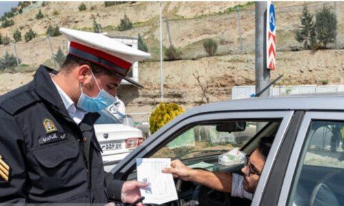 رئیس پلیس راهنمایی و رانندگی گیلان: مجوز تردد بین شهری توسط فرمانداریها صادر میشود