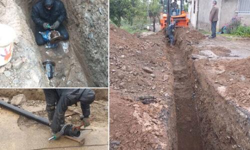 توسعه شبکه آبرسانی روستای آسیابسران بخش رانکوه