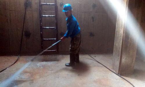 ارتقاء کیفیت آب شرب مشترکین شهر ماسوله