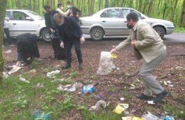 ریخت و پاش زباله در بهشت زمینی تالش/ رنج جنگل گیسوم از ریخت و پاش زبالههای گردشگران