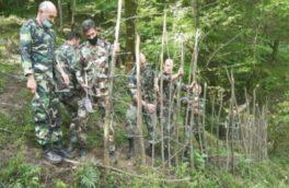 رئیس منابع طبیعی فومن عنوان کرد رفع تصرف بیش از ۶۰۰ هکتاری از اراضی ملی فومن