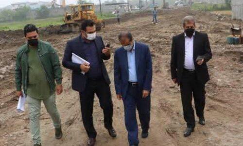 بازدید شهردار رشت از اجرای پروژه بازگشایی و احداث خیابان ۳۰ متری بلوار خرمشهر به کانال ژ۵