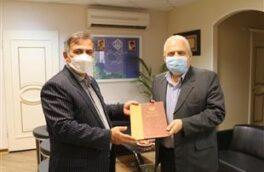به مناسبت روز اصناف صورت گرفت تجلیل مدیرکل تامین اجتماعی گیلان از رئیس اتاق اصناف استان